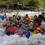 Rafting en el rio Fonce. PARAMO. Departamento de Santander. Colombia. Suramerica