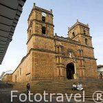 Iglesia de BARICHARA. Departamento de Santander. Colombia. Suramerica