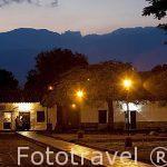 Plaza del pueblo de GUANE. Departamento de Santander. Colombia. Suramerica