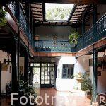 Hotel colonial Vizcaya. CURITI. Departamento de Santander. Colombia. Suramerica