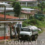 Poblacion de Tilaran. COSTA RICA.