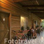 Habitaciones del hotel Rincon de la Vieja Lodge. GUANACASTE. Costa Rica.