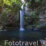 Catarata La Cangreja. Parque Nacional Rincón de la Vieja. Guanacaste. COSTA RICA.