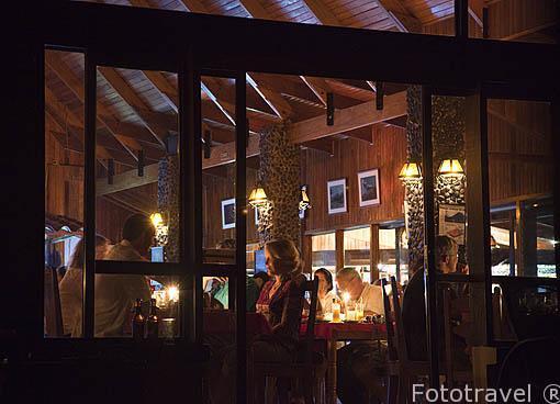 Restaurante del Arenal Observatory Lodge. La Fortuna. Costa Rica