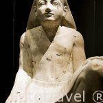 Estatua de Nebatum. De Karnak. Museo Nacional de Alejandria. Ciudad de ALEJANDRIA. Egipto
