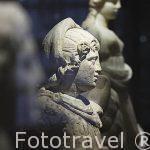 Esculturas en marmol del periodo Helenistico en marmol. Museo Nacional de Alejandria. Ciudad de ALEJANDRIA. Egipto