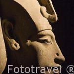 Busto de Akhenaten en el Museo Nacional de Alejandria. Ciudad de ALEJANDRIA. Egipto