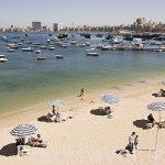 Playas de Ras el Tin. Cerca del fuerte Al- Adda. Ciudad de ALEJANDRIA. Egipto