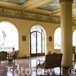 Salon del hotel Windsor Palace en la calle 26 de Julio. Ciudad de ALEJANDRIA. Egipto