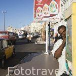 Cabina de telefonos junto a la calle 26 de Julio. Ciudad de ALEJANDRIA. Egipto