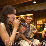 Actuación en directo en el hotel Alexandria Cecil. Ciudad de ALEJANDRIA. Egipto
