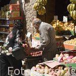 Comercios de todo tipo en la calle Nabi Daniel. Ciudad de ALEJANDRIA. Egipto