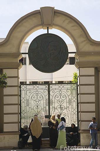 Edificio cerca de la calle Nabi Daniel. Ciudad de ALEJANDRIA. Egipto