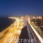 Bahia del Puerto Este desde la terraza del hotel Alexandria Cecil. La Corniche. Ciudad de ALEJANDRIA. Egipto