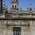 Plaza de Quintana. Santiago de Compostela. Ciudad Patrimonio de UNESCO. A Coruña. España