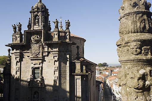 Iglesia de San Fructuoso. Santiago de Compostela. Ciudad Patrimonio de UNESCO. A Coruña. España