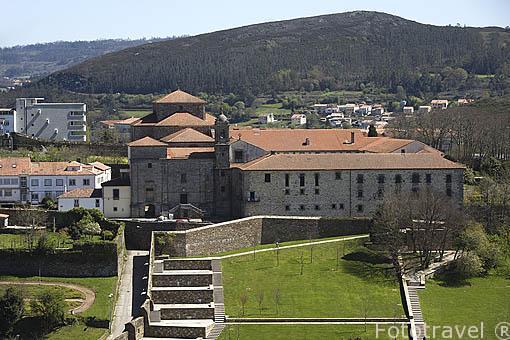 Monasterio de Belvis. Santiago de Compostela. Ciudad Patrimonio de UNESCO. A Coruña. España