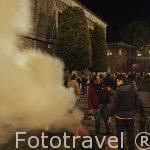 Festividad de las Luminarias. 16 de enero. Población de San Bartolome de Pinares. Avila. Castilla y León. España
