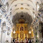 Iglesia de Ntra. Sra. de Los Angeles (S.XV-XVI, Ornamentación Barroca). CHULILLA. Valencia. Comunidad Valenciana. España