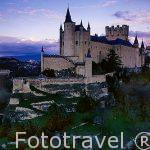 SEGOVIA, ciudad Patrimonio de la Humanidad, UNESCO. Castilla y León. España