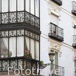 Edificio en la calle Juan Bravo y Cervantes. SEGOVIA. Ciudad Patrimonio de la UNESCO. Castilla y Leon. España
