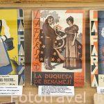 Libros escritos por Antonio y Manuel Machado. Casa Museo de Antonio Machado. SEGOVIA. Ciudad Patrimonio de la UNESCO. Castilla y Leon. España