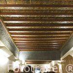 Restaurante El Fogon Sefardi con artesonado original. Hotel La Casa Mudejar***. SEGOVIA. Ciudad Patrimonio de la UNESCO. Castilla y Leon. España