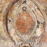 Pinturas murales, s.XIII. Iglesia de los Santos Justo y Pastor, s.XII-XIII. SEGOVIA. Ciudad Patrimonio de la UNESCO. Castilla y Leon. España