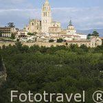 Torre de la catedral de Ntra. Sra. de la Asunción y de San Frutos. S.XVI. SEGOVIA. Ciudad Patrimonio de la UNESCO. Castilla y Leon. España