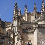 Detalle de la catedral de Segovia. Patrimonio de la Humanidad