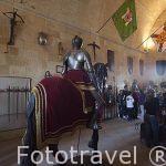 Armadura militar a caballo en Sala de la Armeria del Alcázar, S