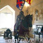 Armadura militar a caballo. Sala de la Armeria. Alcázar Segovia