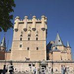 Vista de el Alcazar. S.XII- XVI. Ciudad de Segovia.