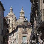 Calle de Juan Bravo. Ciudad de Segovia. Patrimonio de la Humanid