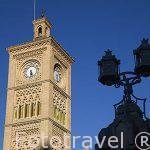 Estación de tren. Inaugurada en 1919. Estilo Neomudejar. Ciudad de TOLEDO. Patrimonio de la Humanidad, UNESCO. Castilla La Mancha. España