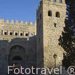 Puerta de Alfonso VI. Ciudad de TOLEDO. Patrimonio de la Humanidad, UNESCO. Castilla La Mancha. España