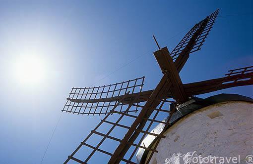 Molino. Consuegra. Castilla La Mancha. España. Spain.