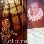 l El Quijote de la Mancha. Miguel de Cervantes Saavedra.Castilla La Mancha. España. Spain.