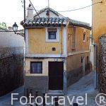 Casa en la calle Cristo de la Parra. Ciudad de Toledo. Ciudad Patrimonio de la Humanidad, UNESCO. Castilla La Mancha. España