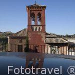 Torre mudejar de San Cipriano. Consta de 3 cuerpos. Toledo. Ciudad Patrimonio de la Humanidad, UNESCO. Castilla La Mancha. España