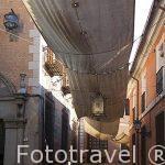 Calle de la Trinidad. Toledo. Ciudad Patrimonio de la Humanidad, UNESCO. Castilla La Mancha. España
