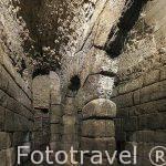 Deposito hidraulico abovedado de época romana. Cuevas de Hercules. Toledo. Ciudad Patrimonio de la Humanidad, UNESCO. Castilla La Mancha. España
