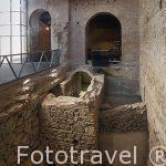 Interior de las Cuevas de Hercules. Epoca romana. Toledo. Ciudad Patrimonio de la Humanidad, UNESCO. Castilla La Mancha. España