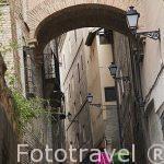 Calle del Angel. Ciudad de Toledo. Ciudad Patrimonio de la Humanidad, UNESCO. Castilla La Mancha. España