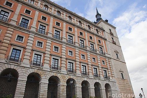 El Alcazar. Toledo. Ciudad Patrimonio de la Humanidad, UNESCO. Castilla La Mancha. España