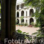Interior. Edificio del Palacio Nacional de la Cultura. Ciudad de GUATEMALA. Centroamerica