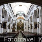 Interior. Iglesia de la Merced. Ciudad de GUATEMALA. Centroamerica