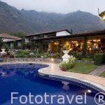Hotel Atitlan, situado a la orilla del lago Atitlan. Poblacion de PANAJACHEL. Departamento de Sololá. Guatemala. Centroamerica