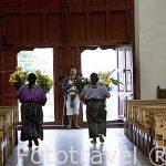 Iglesia del pueblo de SANTIAGO DE ATITLAN. Departamento de Sololá. Guatemala. Centroamerica