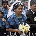 Boda en el pueblo de SAN ANTONIO PALOPO. Etnia de Cakchiqueles. Departamento de Sololá. Guatemala. Centroamerica